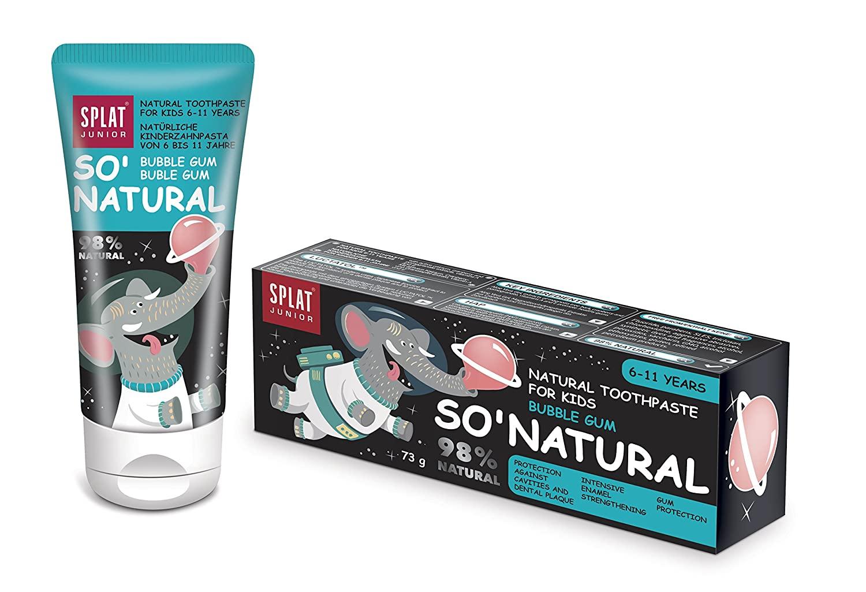 SPLAT Junior Bubble Gum Natural Toothpaste for children 6 – 11 years, 73g