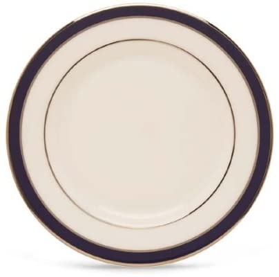 Lenox Federal Cobalt Platinum Bone China Butter Plate