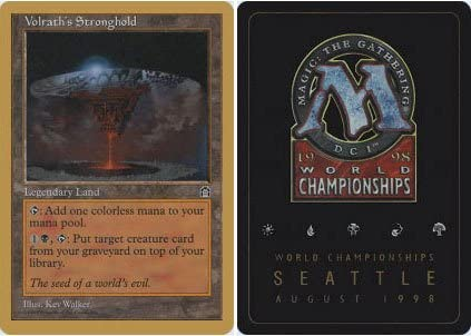 Magic The Gathering - Volrath39;s Stronghold - World Championship Deck Singles
