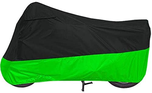 dalianda Motorcycle Cover for Honda GL 1500 GL 1800 UV Dust Prevention XXL Black & Green