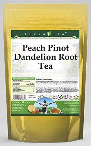 Peach Pinot Dandelion Root Tea (50 Tea Bags, ZIN: 568323) - 3 Pack