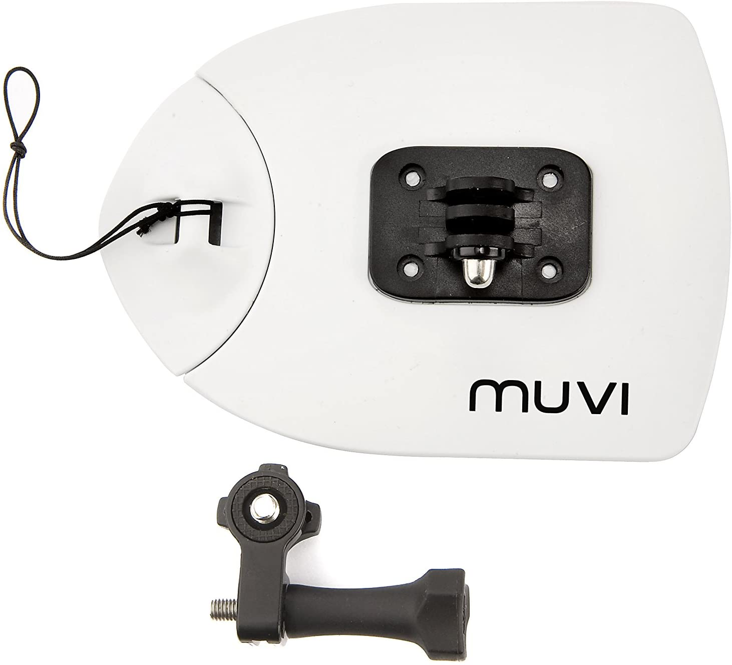 Veho Muvi Flat Board Mount for Snowboard/Surfboard Mount for Muvi KX-Series | Muvi K-Series | Muvi HD | Muvi Micro - White (VCC-A015-FBM)