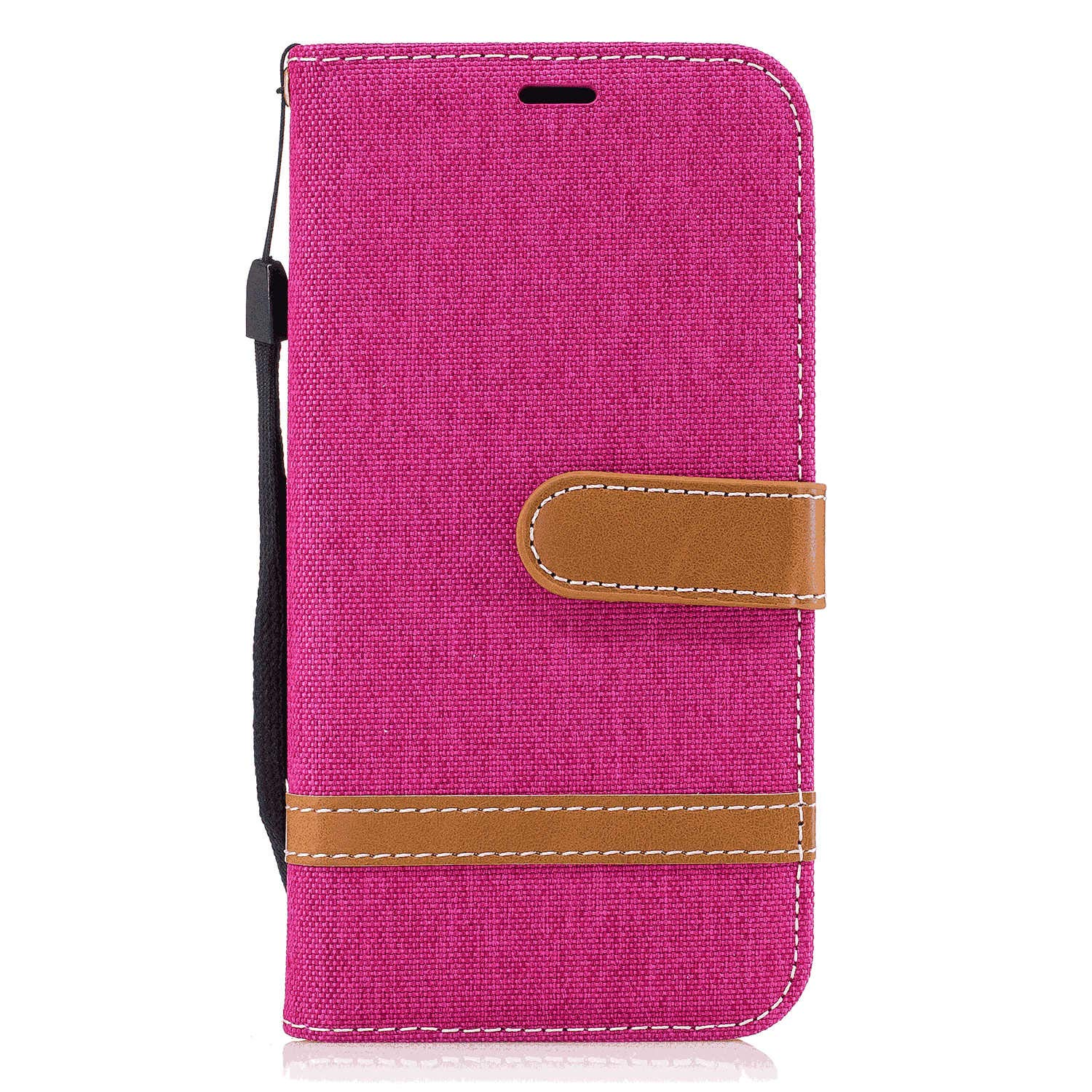 Flip Case for Samsung Galaxy S20, pink PU Leather Wallet Cover (Compatible with Samsung Galaxy S20)