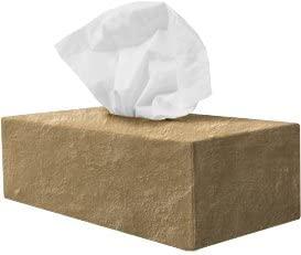 Tissue Box Sox - Sandstone - Standard
