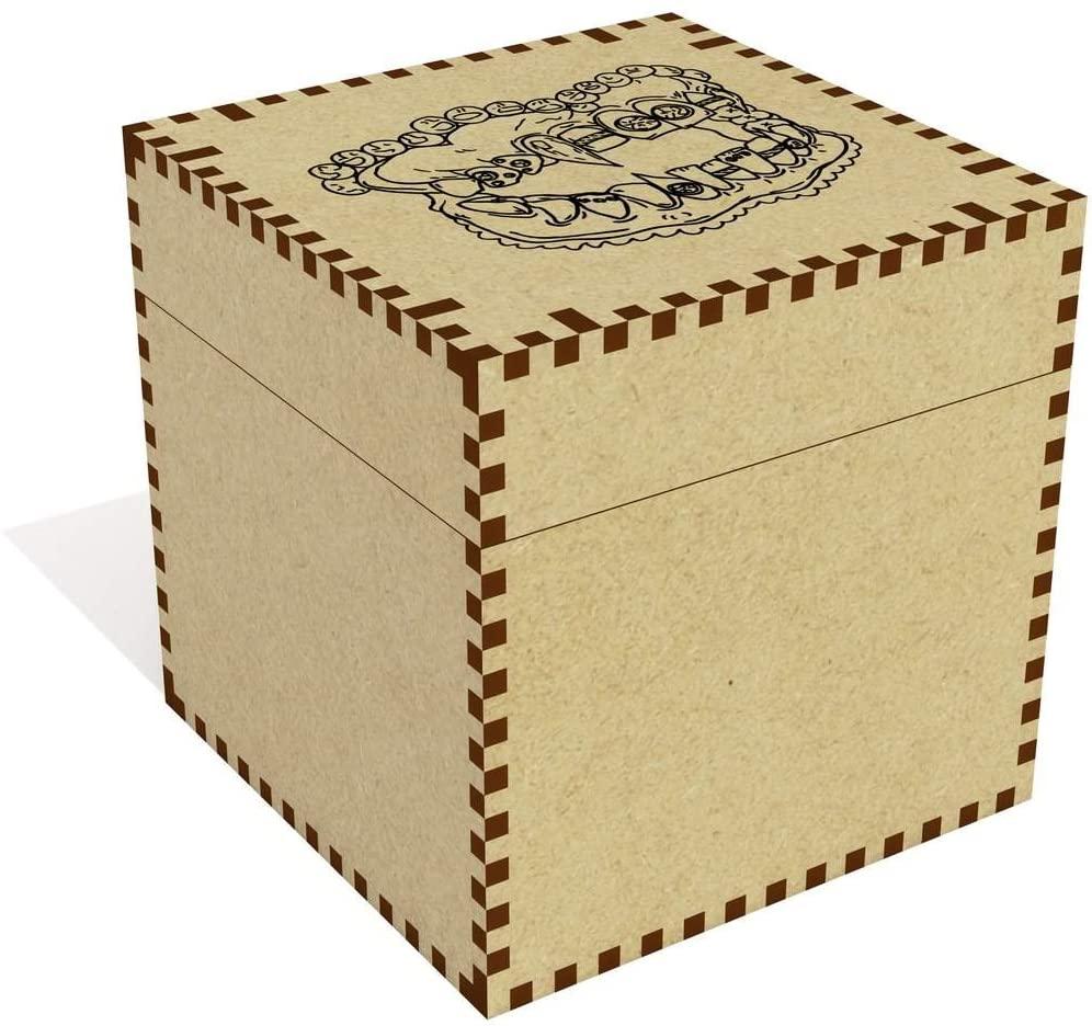 Large 'False Teeth' Jewellery / Trinket Box (JB00017322)