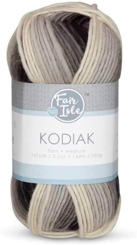 Fair Isle Kodiak Space Dye Yarn-dark Night