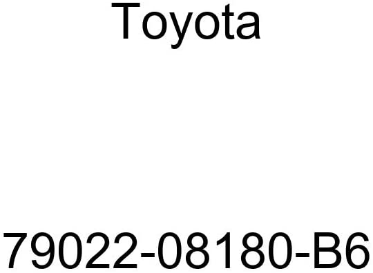 TOYOTA Genuine 79022-08180-B6 Seat Cushion Cover Sub Assembly