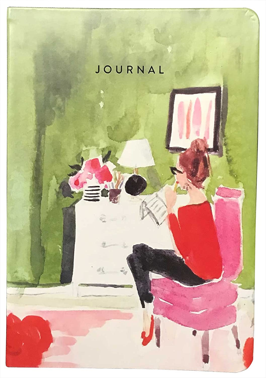 Eccolo 6 x 8 Inches Style Journal in Faux Leather (Breakfast Journal)