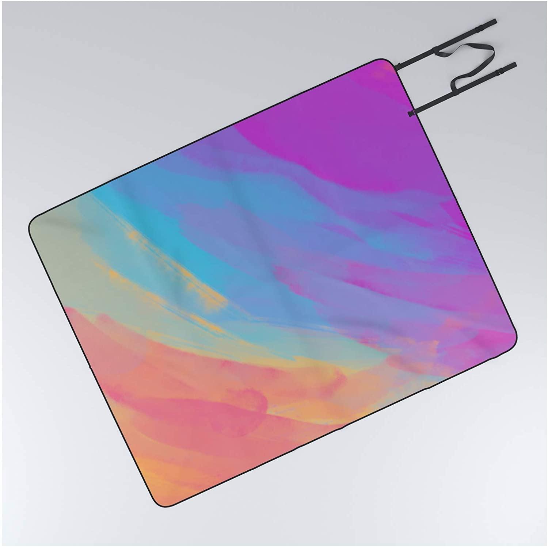 Outdoor Picnic Blanket - 50 x 60 - Full Color Summer by Morgan Harper Nichols