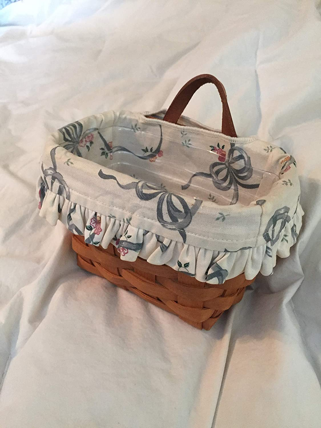 Longaberger Ambrosia Basket with Protector and Liner