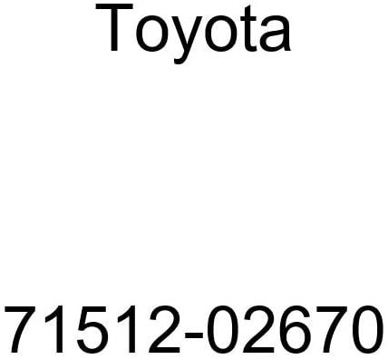 TOYOTA Genuine 71512-02670 Seat Cushion Pad