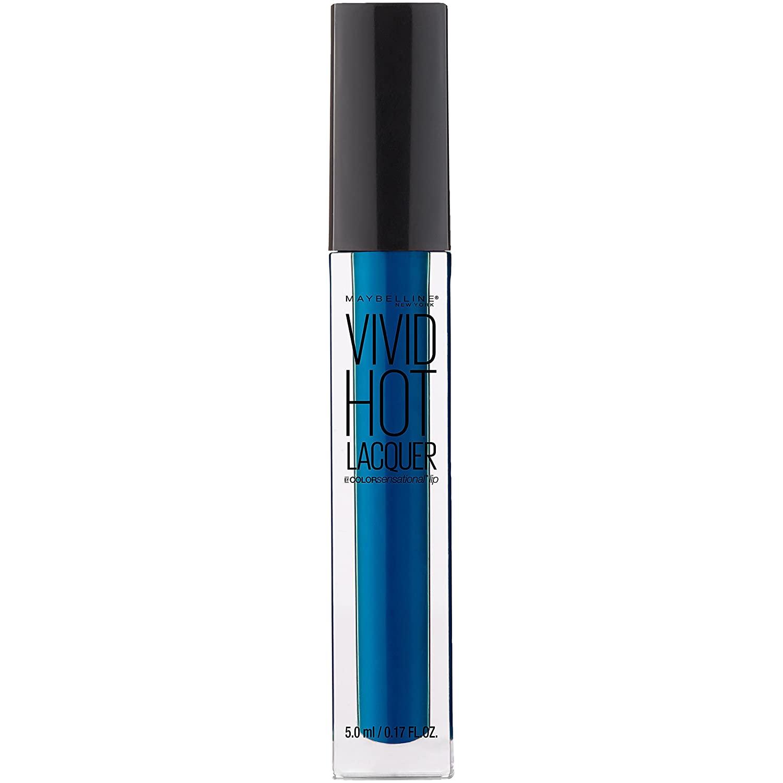 Maybelline New York Color Sensational Vivid Hot Lacquer Lip Gloss, Major, 0.17 Fluid Ounce