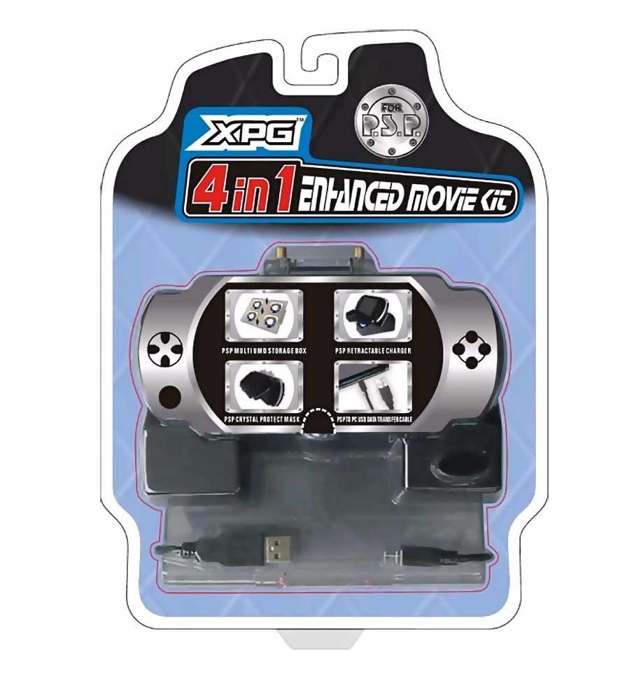 Sony PSP 4 in 1 Enhanced Movie Kit - XPG