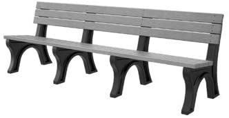 Kirby Built Products 8' Victory Bench - Premium Wood Grain - Driftwood