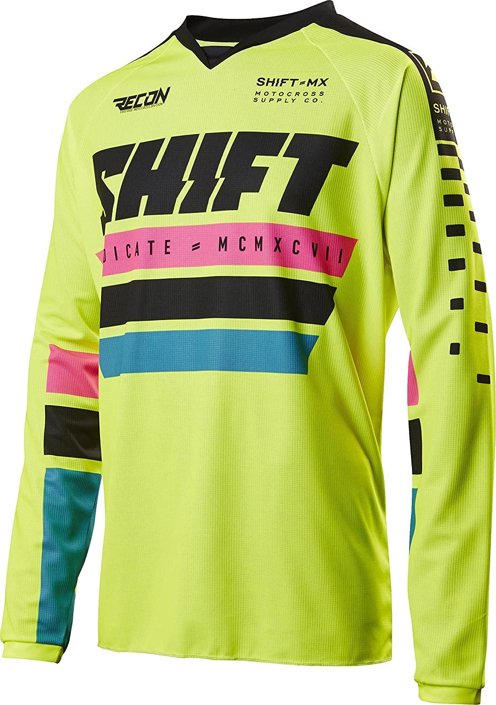 Shift Racing Recon Phoenix Men's Off-Road Motorcycle Jerseys - White