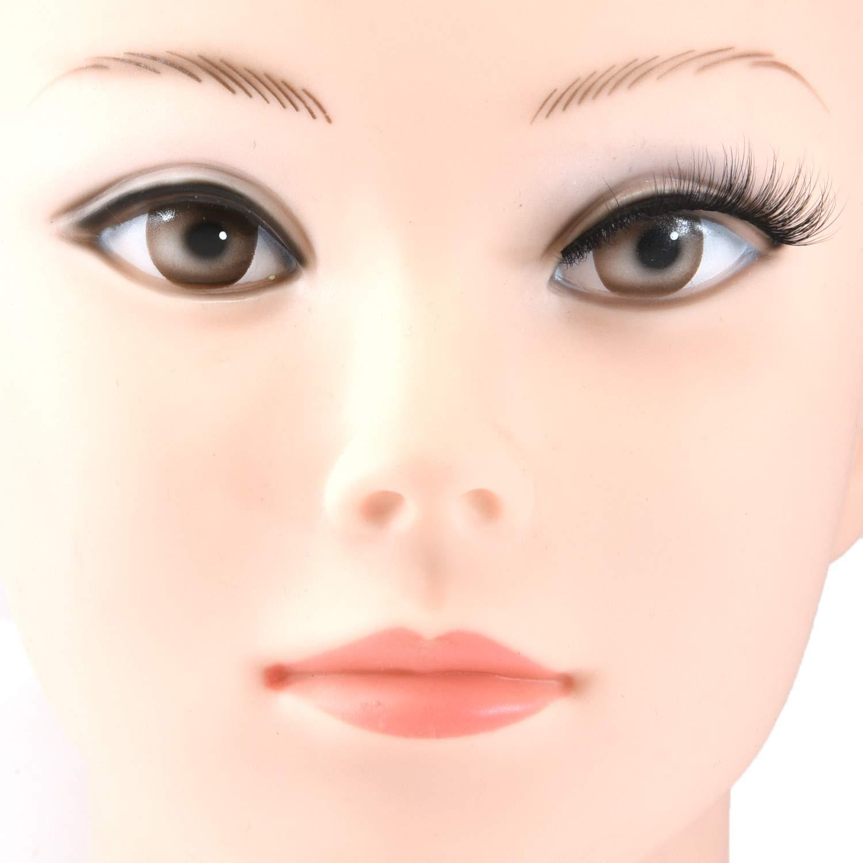 MIZ LASH 3D Mink Eyelashes 100% Real Fur Cruelty Free Strips False Lashes for Women Reusable Soft Thick Curl Dramatic Fluffy Natural Look Handmade Lash #09 Fashion Fake Eyelash Extensions 1 Pair Pack