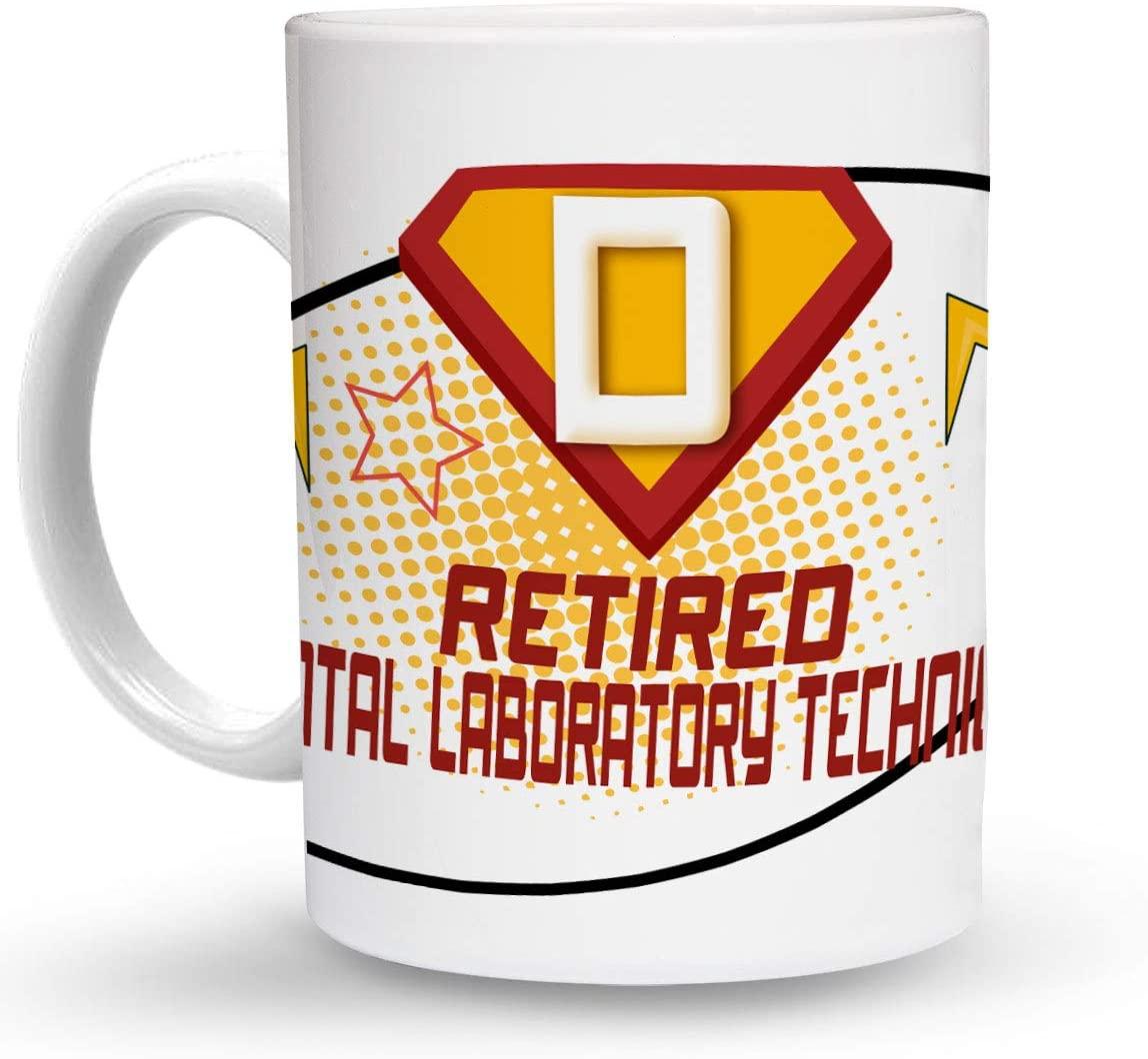 Makoroni - RETIRED DENTAL LABORATORY TECHNICIAN Career 6 oz Ceramic Espresso Shot Mug/Cup Design#94