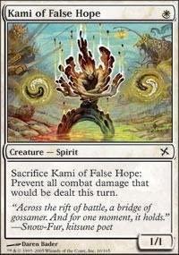 Magic: the Gathering - Kami of False Hope - Betrayers of Kamigawa - Foil