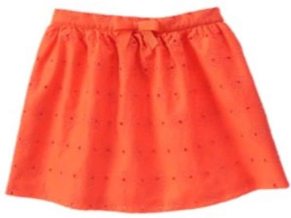 Gymboree Big Girls' Orange Eyelet Skirt