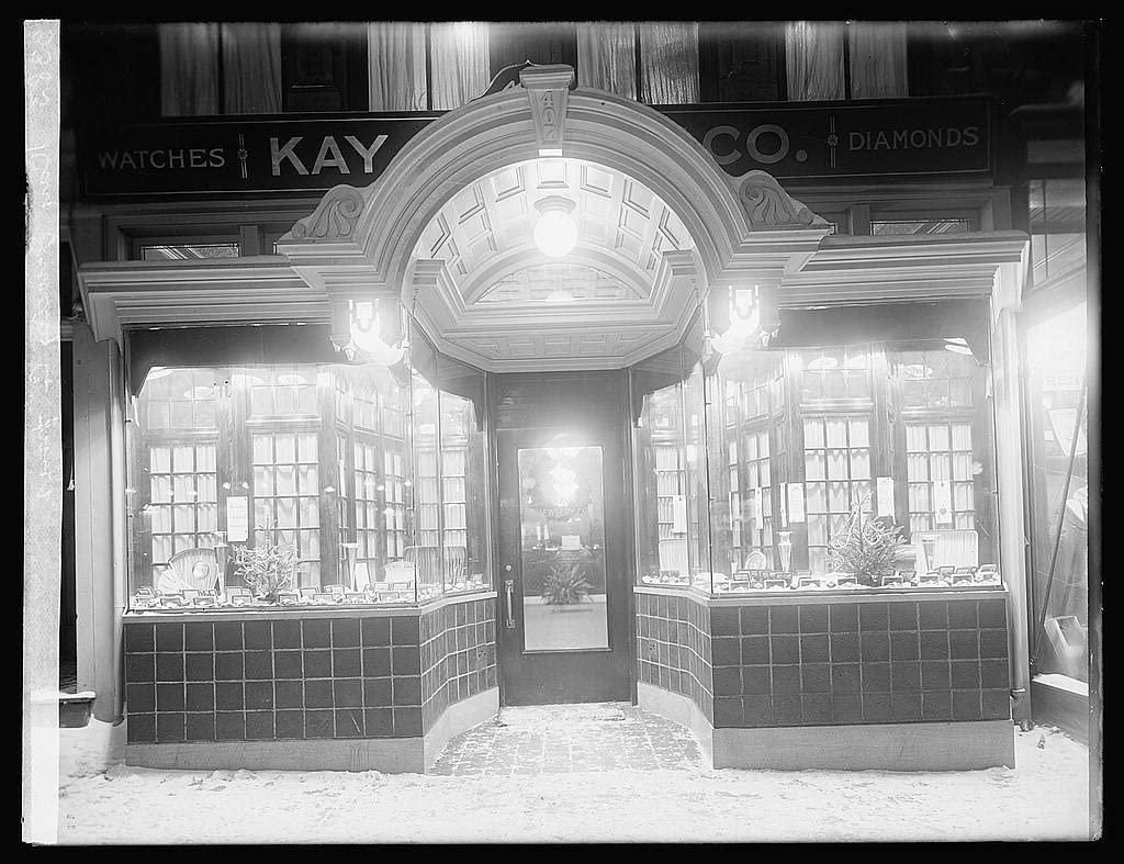 Photography Print - 'Kay Jewelry Co. front' - 16