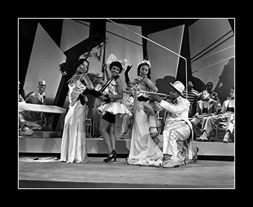 8 x 10 All Wood Framed Photo Armstrong, Louis Doctor Rhythm