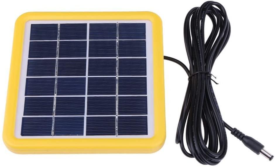 Childplaymate 2W 6V Wired Polycrystalline PET + EVA Laminated Mini Solar Cell Panel