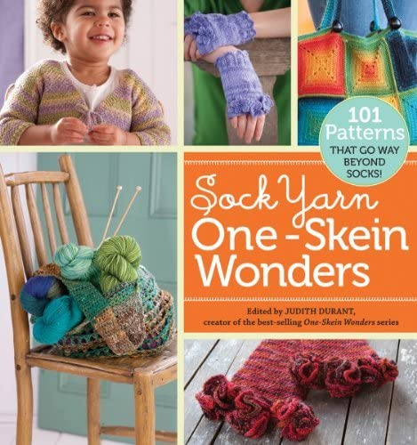 Storey Publishing, Sock Yarn One-Skein Wonders