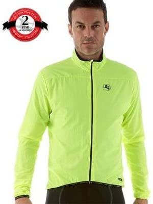 Giordana FormaRed Carbon Compactible Wind Jacket - Mens