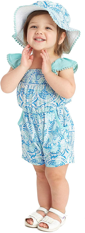 Masala Baby Baby Girls' Zuri Romper