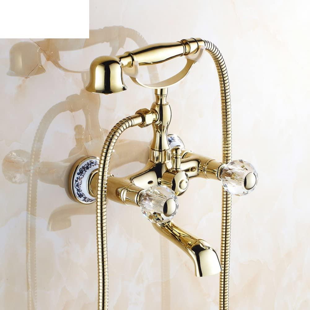 Copper Antique Bathtub/European-Style Shower Mixer/with Swivel Faucet-F