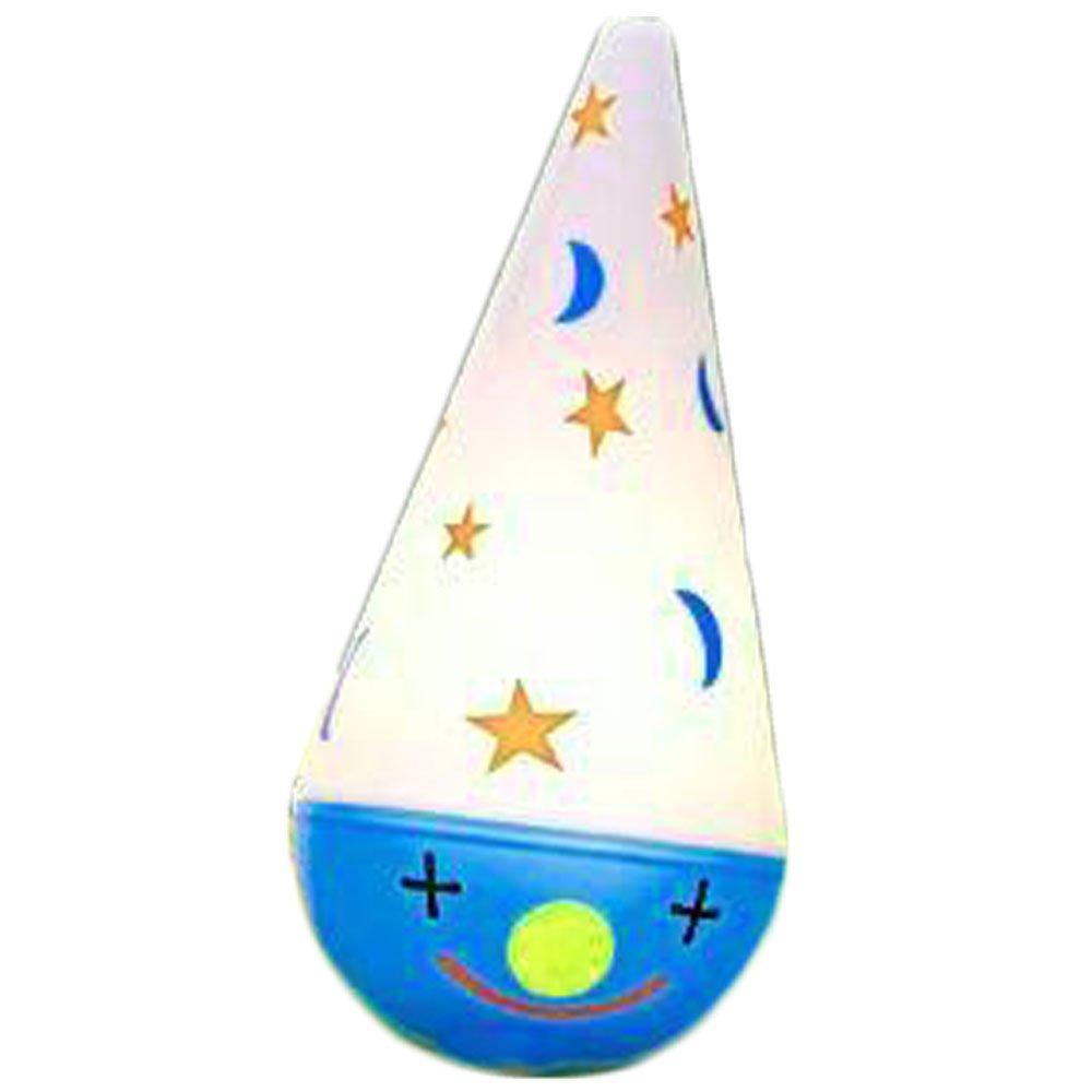 Blue Clown Tipsy Topsy Lamp Nursery Light