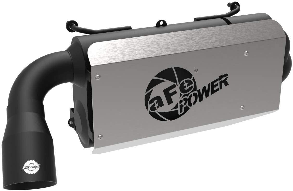 aFe Power 49-84002-H Dirt Runner Slip-On Exhaust System