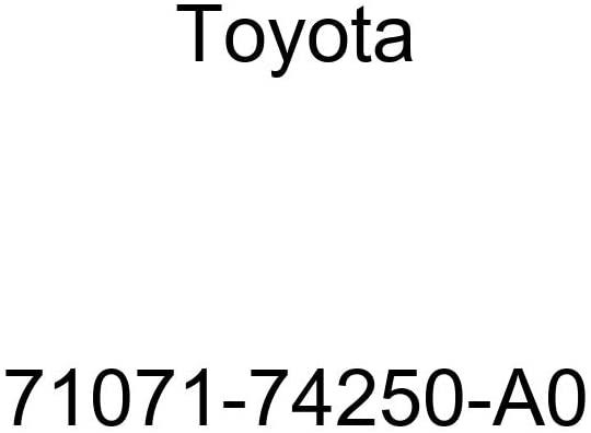 TOYOTA Genuine 71071-74250-A0 Seat Cushion Cover