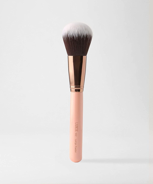 LUXIE 502 Large Powder Brush-Rose Gold
