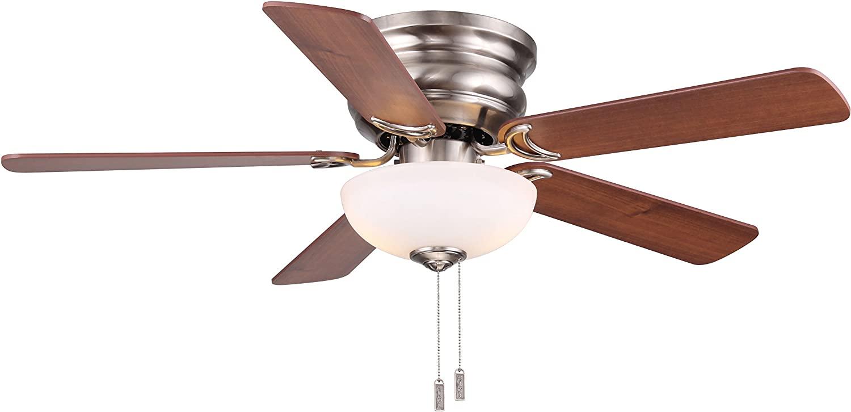 Wind River Fans Frisco Nickel 44 Inch Ceiling Fan