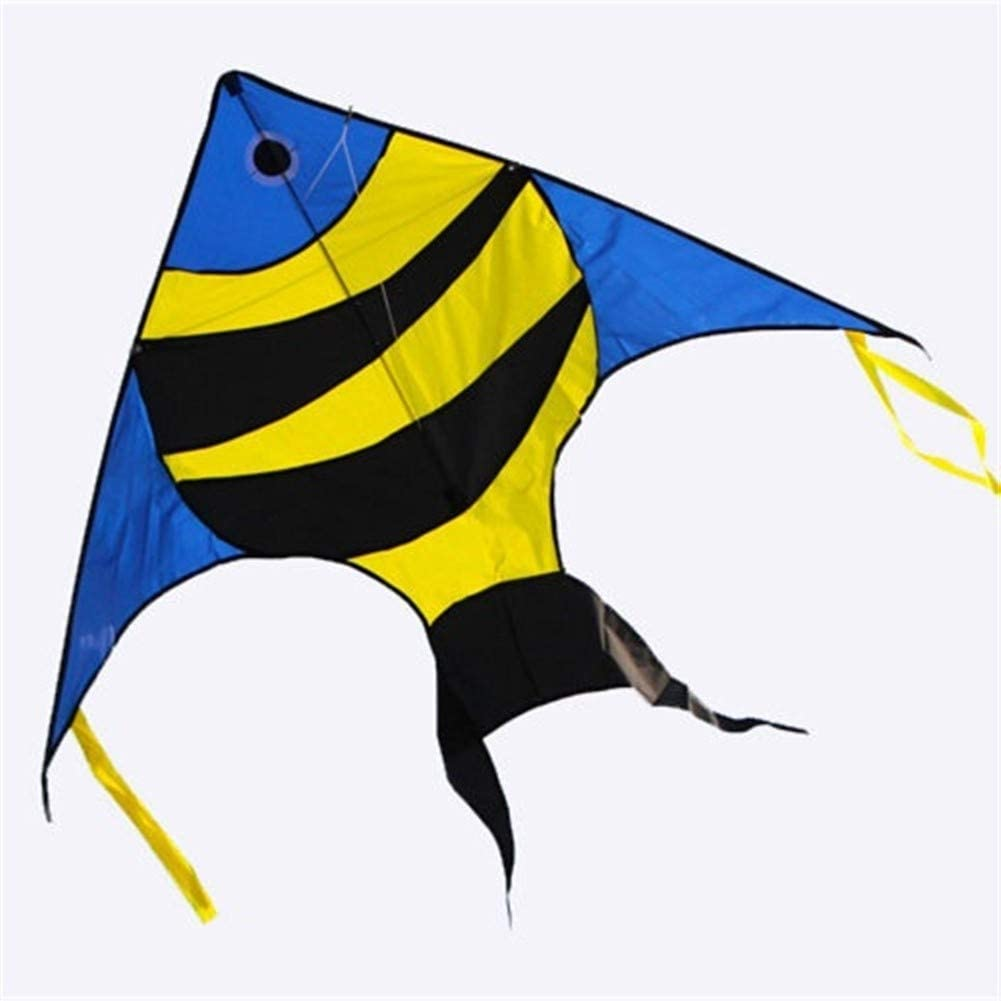 MJC Children Kite Kite, Kids Kite Fun Kites for Kids Easy to Fly with Outdoor Sports 59 inch Fish Kite Breeze (Color : Fish)