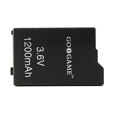 3.6v 1200mAh Battery Pack for PSP (Black)