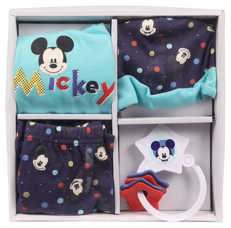 Disney Mickey Mouse 4 Piece Layette Set