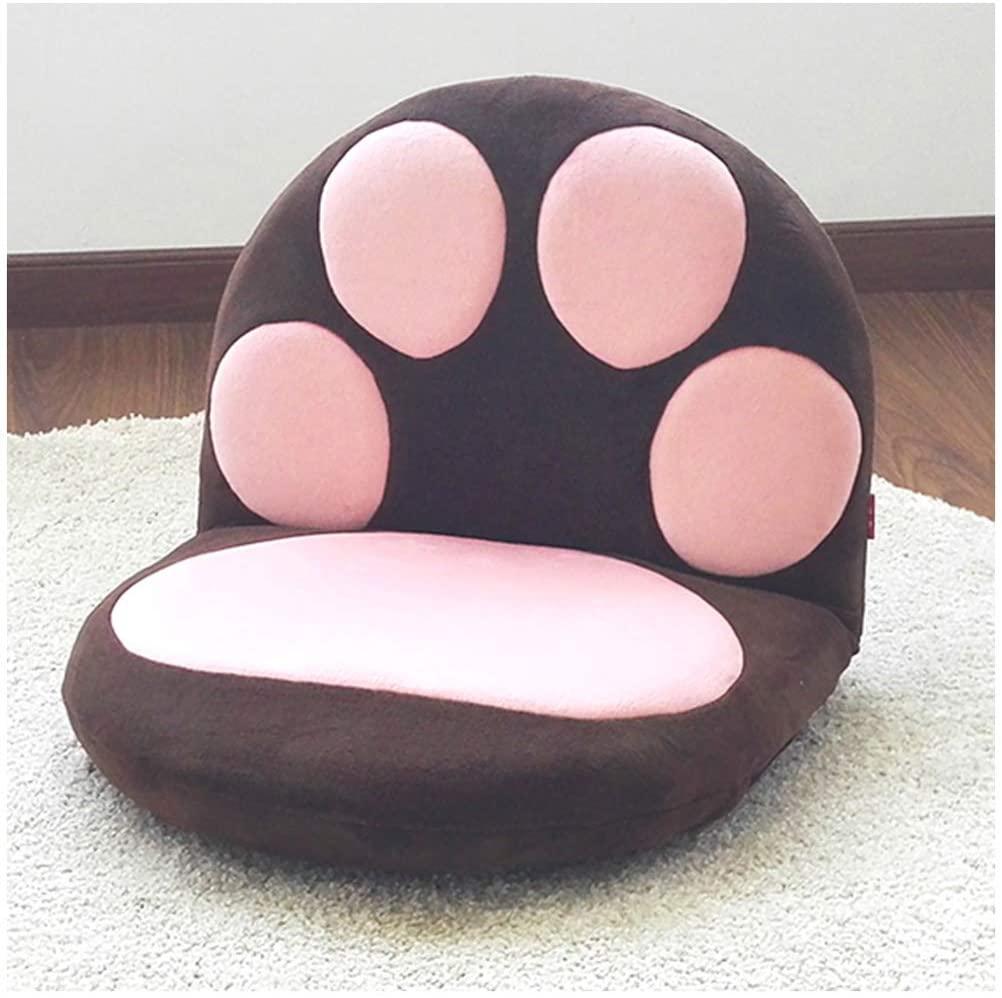 GFPR Lazy Sofa Cartoon Cushion, 5-Speed Adjustment Floor Chair, Student Bed Tatami Back Chair