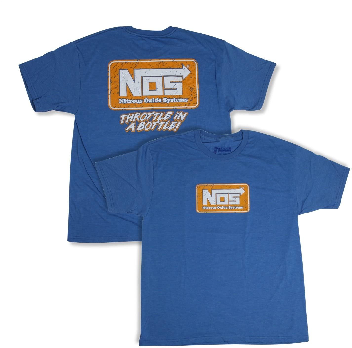 NOS/Nitrous Oxide System 19071-XXXLNOS T-Shirt NOS Logo Blue Unisex XXX-Large T-Shirt