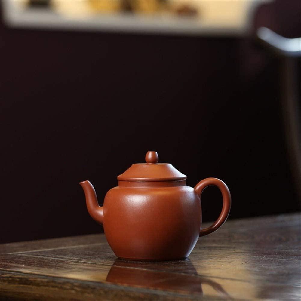 MADONG Teapot ore wrinkled Zhuni hand-grade tea pot lanterns (Color : Black)