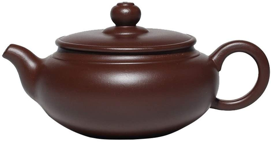 MADONG Teapot, ore purple clay tea, kung fu tea (Color : Red)