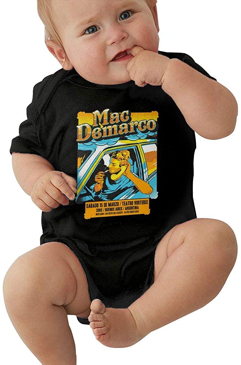 Mac Demarco Small Child Unisex Cotton Baby Underwear Short Sleeve