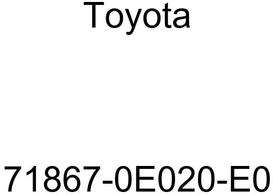 TOYOTA Genuine 71867-0E020-E0 Seat Cushion Shield