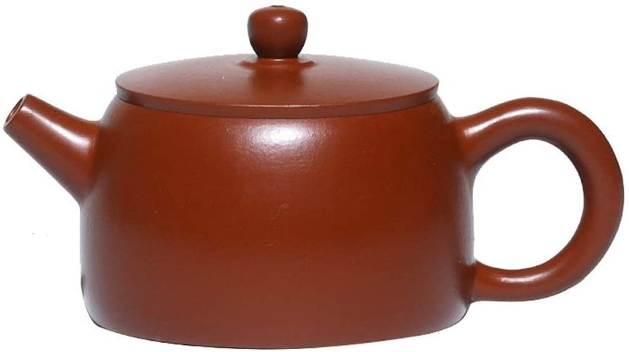MADONG Teapot ore, ore Dahongpao wheel pot, teapot (Color : Red)
