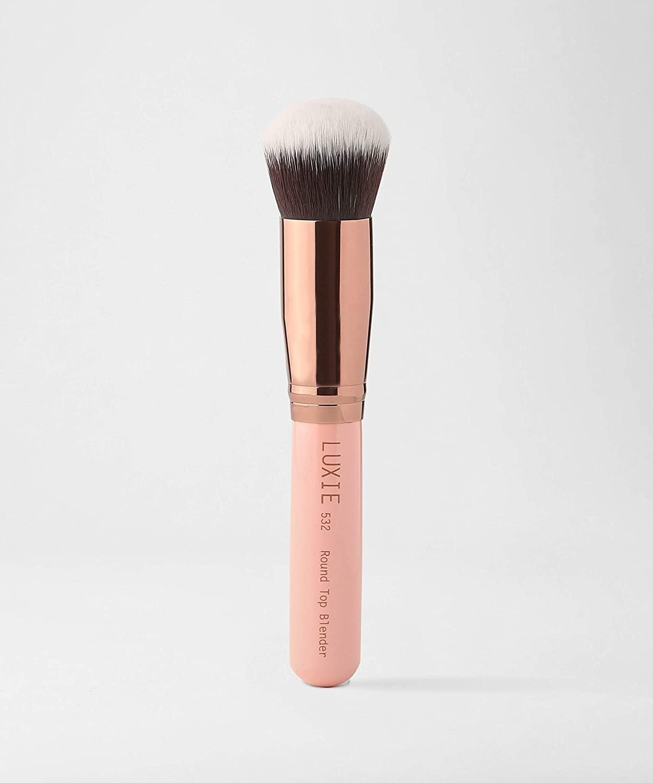 LUXIE 532 Round Top Kabuki Brush-Rose Gold