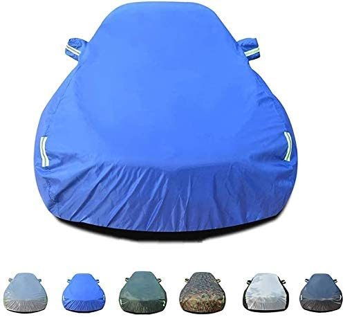 Lifeilsd Full Car Cover - Rainproof, Windproof, Dustproof, UV Resistant, Non-Flammable, Oxford Cloth Cover, Suitable for A-UDI R8 Indoor and Outdoor Protector, Six Colors Optional