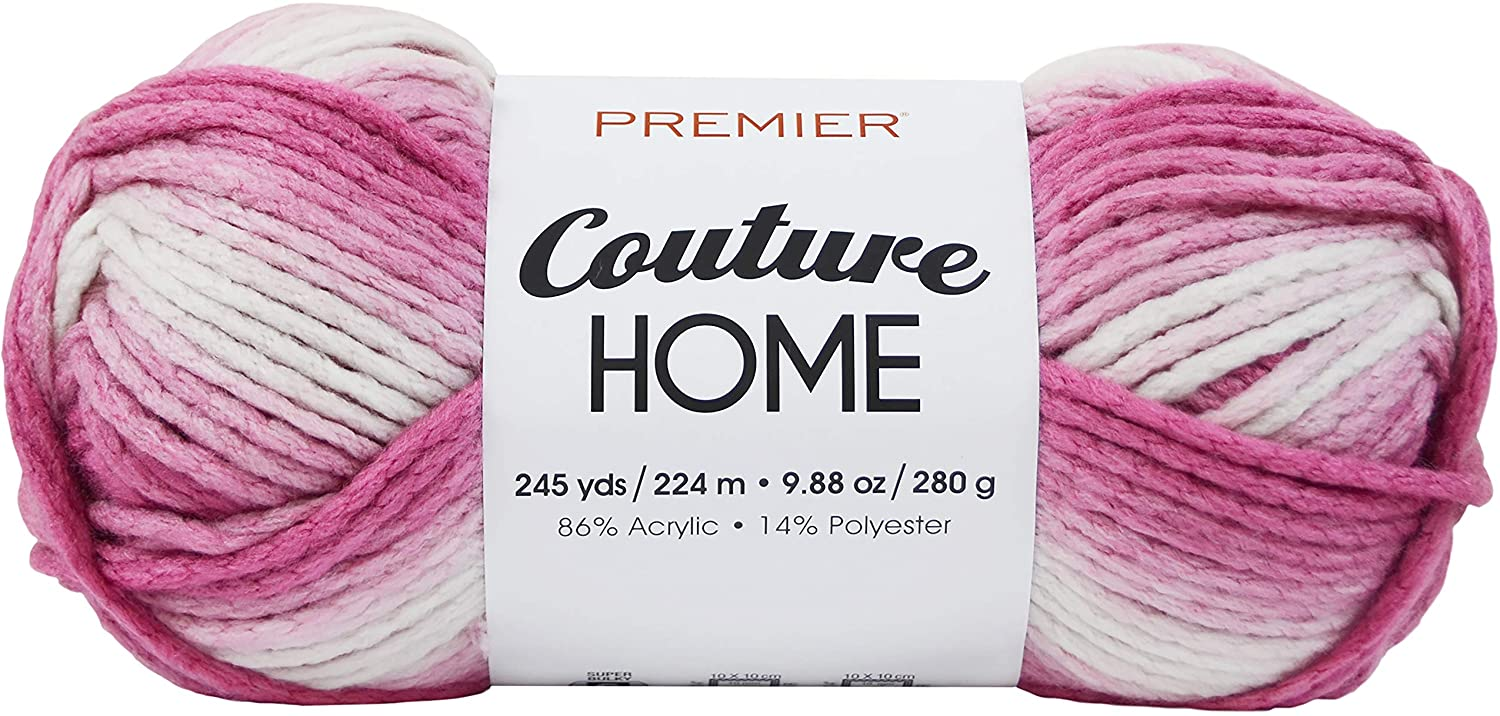 PREMIER YARNS YARN COUTURE HOME AZALEA