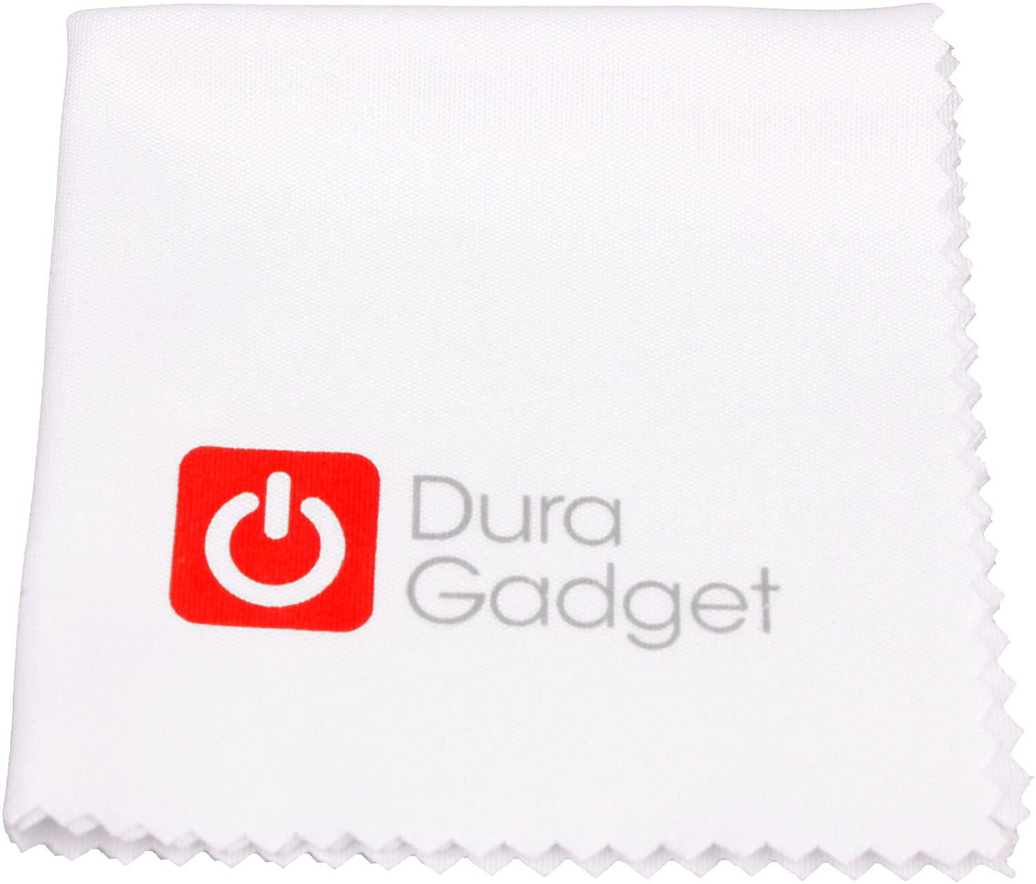 DURAGADGET White Device Cleaning Cloth - Compatible with The Odys Nova X7 Plus | Nova X7 Pro | Nova X7