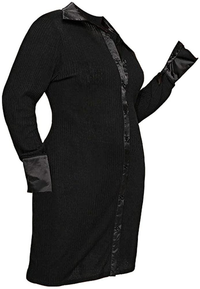 BOLLAER Slim Dress, Temperament OL Dress, Light Mature Style, Fat Sister Dress